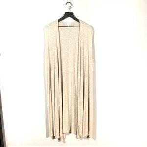 Lularoe Ribbed Joy Sleeveless Duster Vest